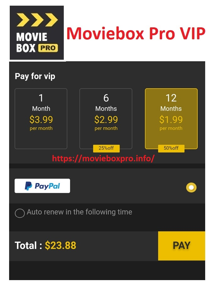 moviebox pro vip for android