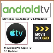 Moviebox Pro apple tv and Android tv updated