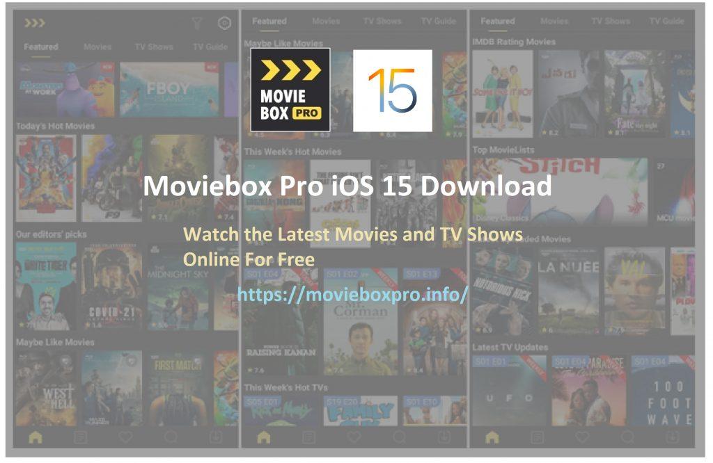 moviebox pro ios 15